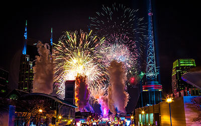 New Years Eve in Nashville: Our Guide for The Best Activities, Eats and Stays