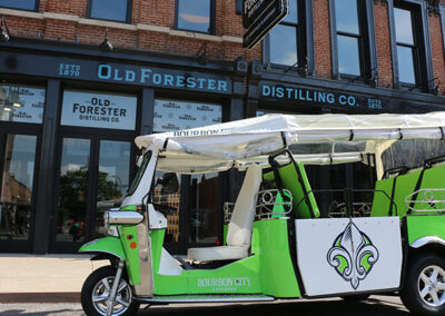 Bourbon City Cruisers Tuk Tour to Old Forester Distillery in Louisville
